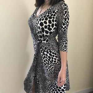 Leopard print dress from Laundry by Shilly Segal